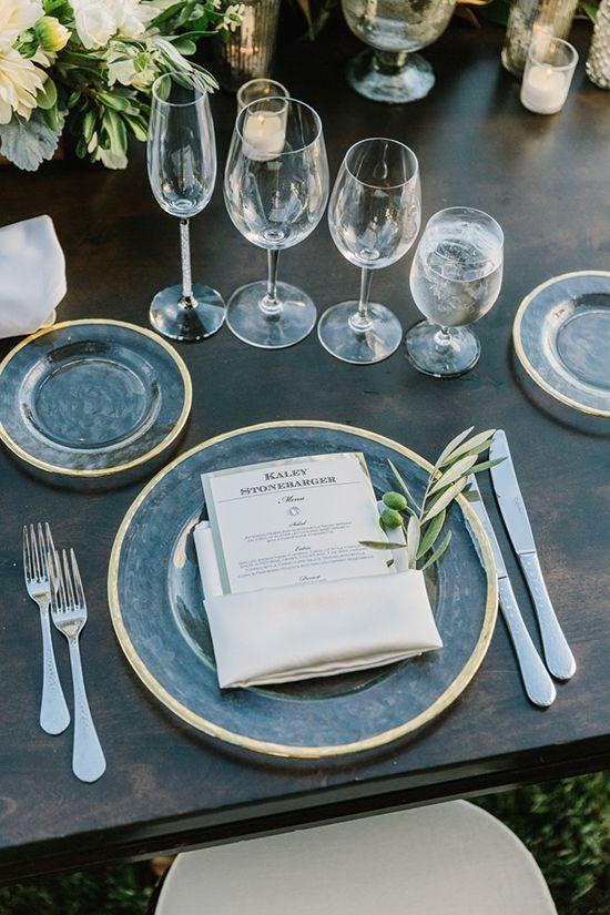 20 Impressive Wedding Table Setting Ideas - MODwedding