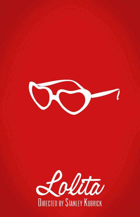 lolita affiche film minimaliste
