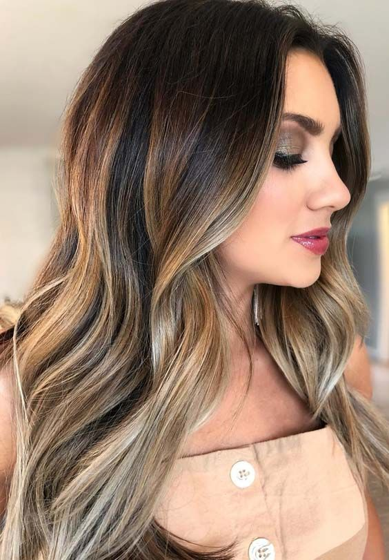 887cbfebc54 27 Unique Bronze Balayage Hair Color Ideas for Women 2018. Trendy hair  color ideas for women to sport in 2018. Bronze and bronde are one of those  hair ...