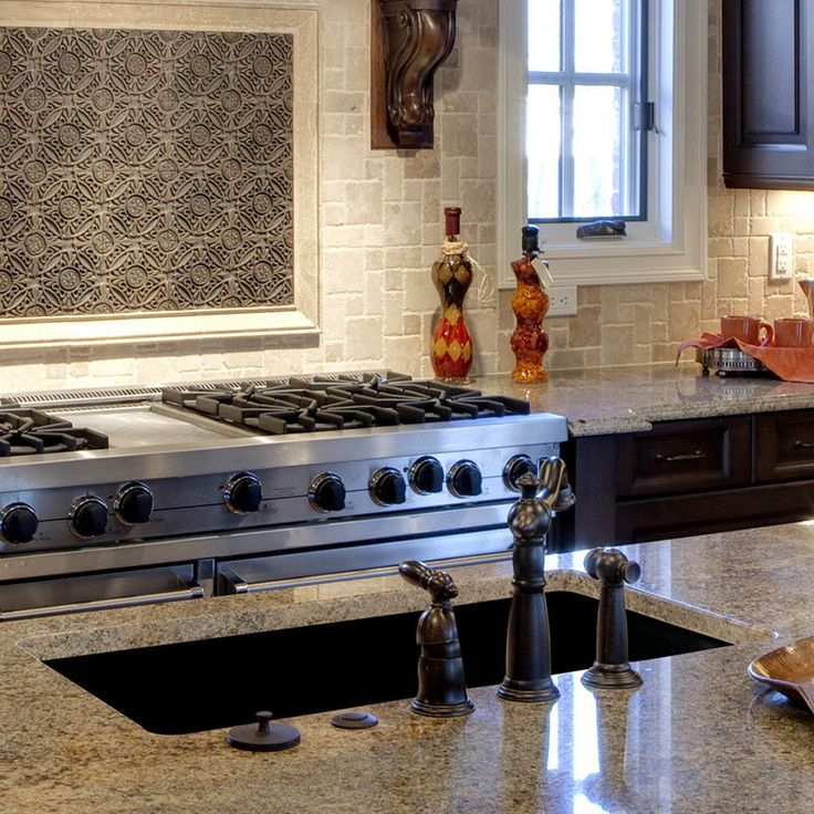 Kitchen Backsplash Granite: 53 Best Kitchen Backsplashes Images On Pinterest