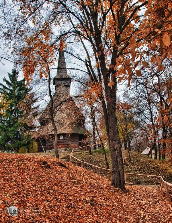 "Autumn ....... at ""Dimitrie Gusti"" Village Museum from Bucharest"