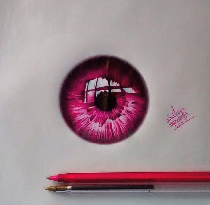 how to draw shiny eyes