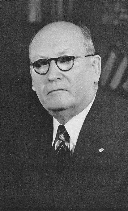 D.F. Malan, the fifth Prime Minister of South Africa, who put together the apartheid policies that governed the country until majority rule was implementented.