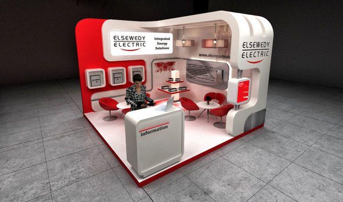 3d Exhibition Model : Exhibition stand d model ☆ exhibit design ☆ booth