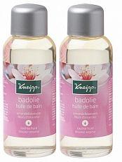 Kneipp Badolie Amandelbloesem 2x100ml  Deze heerlijk geurende Kneipp amandelbloesem badolie biedt de huid actieve bescherming en voelbare verzorging. Je huid voelt hierdoor weer soepel en zacht aan. De zoete amandelolie met essentiële vetzuren en met vitamine E ondersteunt de natuurlijke hydratatie van je huid.Bijzonder geschikt voor mensen met een droge en/of gevoelige huid.  EUR 12.50  Meer informatie  http://ift.tt/2rfT8AS #drogist