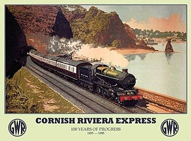 Image result for Cornish riviera express