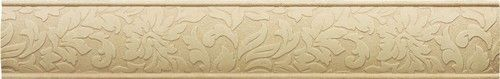 Cast Stone Decoratives - Travertine Dorset Damask Border 2x12