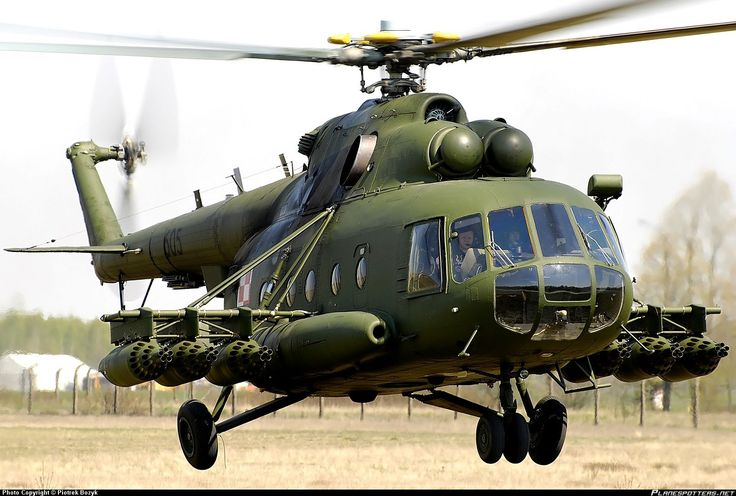 Mil Mi-8/17 Heavy Transport-helicopter