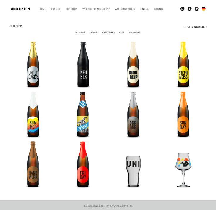 andunion.com was built with our Shopkeeper theme. It stands for modernist Bavarian craft beer https://themeforest.net/item/shopkeeper-ecommerce-wp-theme-for-woocommerce/9553045?utm_source=pinterest.com&utm_medium=social&utm_content=andunion&utm_campaign=showcase #bavarian #beer #showcase #website #UX #webdesign #wordpress #gooddesign