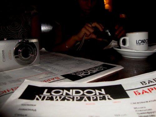 London cafe. Dagestan
