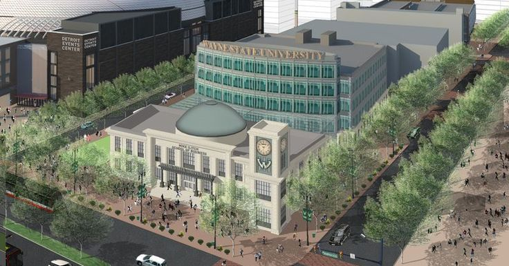 Mike Ilitch School of Business Breaks Ground This Week - Curbed Detroit