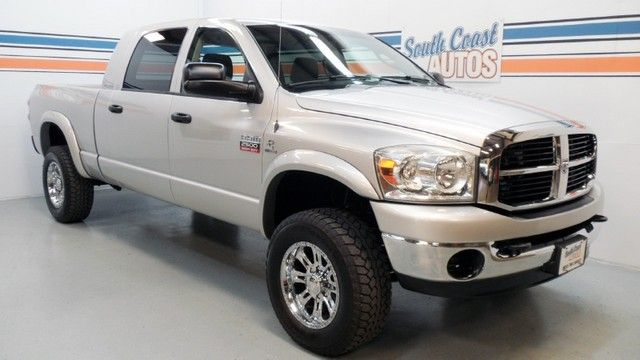 4x4 silver turbo diesel 2007 dodge ram mega cab 2500 slt i6 automatic for sale at http www. Black Bedroom Furniture Sets. Home Design Ideas