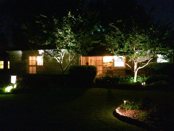 Dallas Landscape Lighting Electricians Design U0026 Install Outdoor Lighting  Systems U0026 Install Back Up Generators, Wire Outdoor Kitchens/arbor Electric
