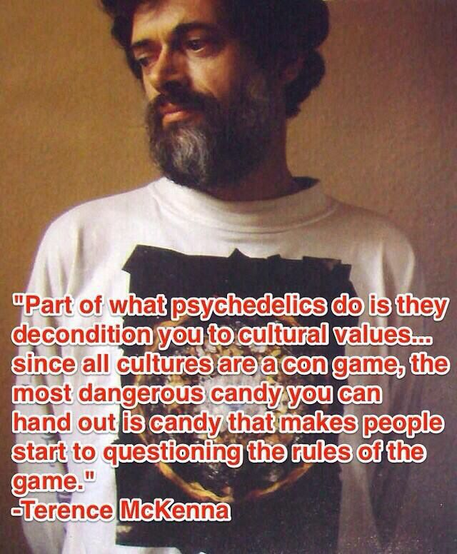 terence mckenna and the exploration of psychedelia A creative collective producing art, film, and events on the aspects of the psychedelic experience and the exploration of consciousness.