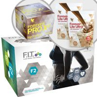 Forever F.I.T. 2 will take you to the next level by helping you to tone your body, burn more calories and transform. Lean muscle is essential to weight loss for both men and women, and Forever F.I.T. 2 programme will help you learn how to build it and sustain it!   Your F.I.T. 2 pack includes:  Aloe Vera Gel® – 4X – 1 liter bottles Forever Lite Ultra Shake® – 2 Chocolate pouches Forever Therm™ – 60 tablets Forever Fiber™ – 30 sticks Forever Garcinia Plus® – 70 softgels Forever PRO X²