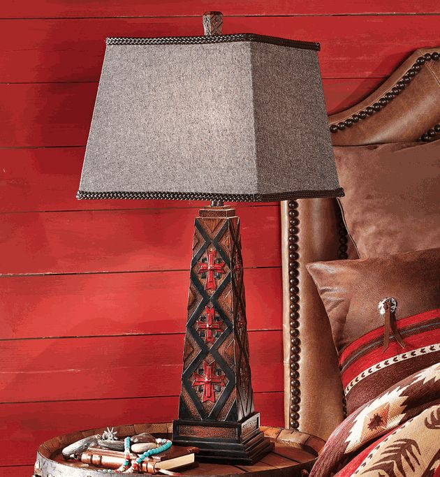 Mystic Trail Southwestern Table Lamp Lone Star Home Decor