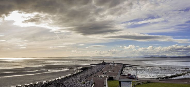 Morecambe Bay  View from The Midland