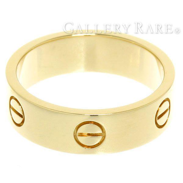 カルティエ リング ラブリング K18YGイエローゴールド リングサイズ59 B4084600 B4084659 Cartier 指輪 ジュエリー