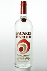 An image of Bacardi Peach Red Rum