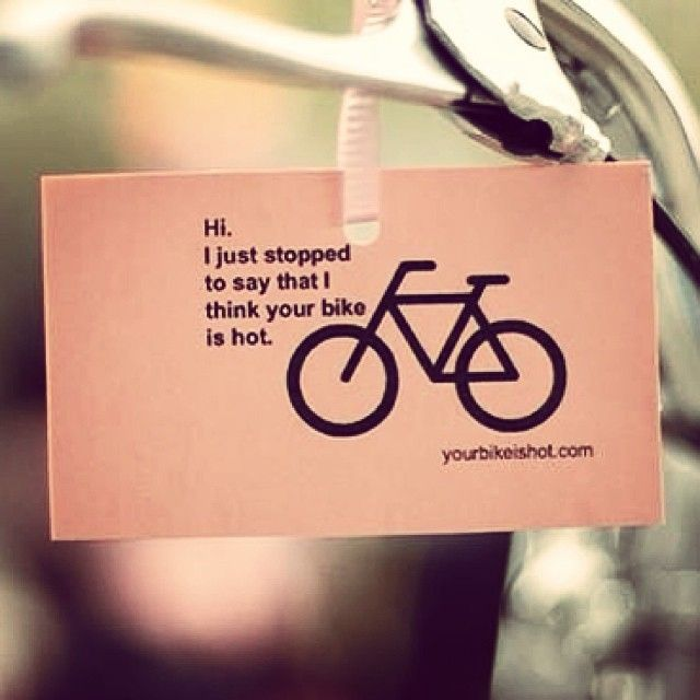Ever stop someone in the street to tell them you like their bike? What was that bike? #cycling #admiration