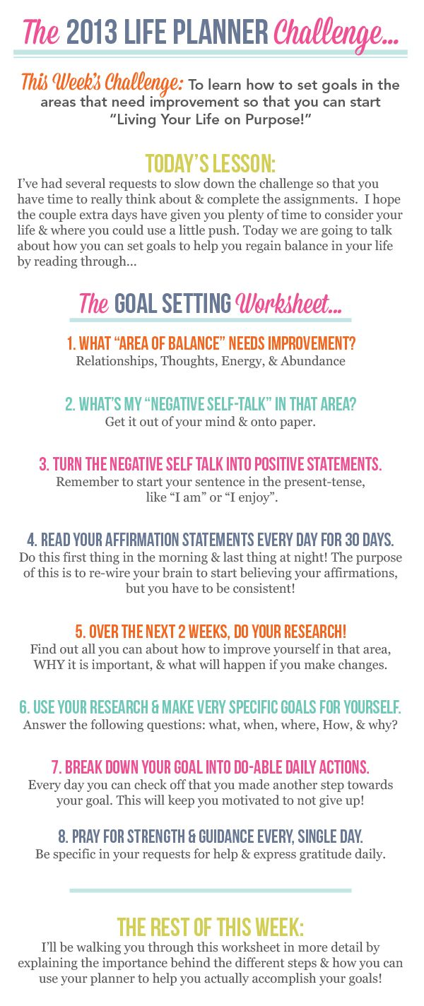 best ideas about how to set goals goal setting lots of great self organisation ideas and worksheets on crystalwilkerson com the one