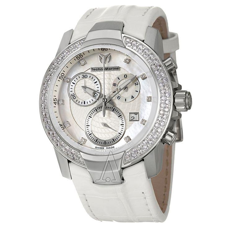 Technomarine Pave Diamond Watch