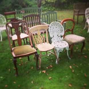 Elegant, Chic, Vintage & Antique Tables & Chairs For Hire