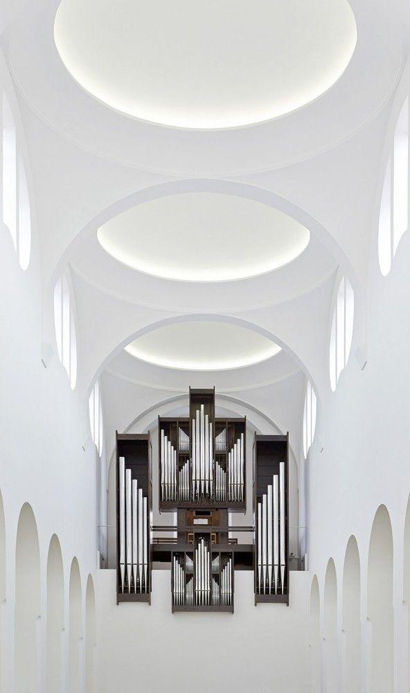 St Moritz Church. John Pawson.