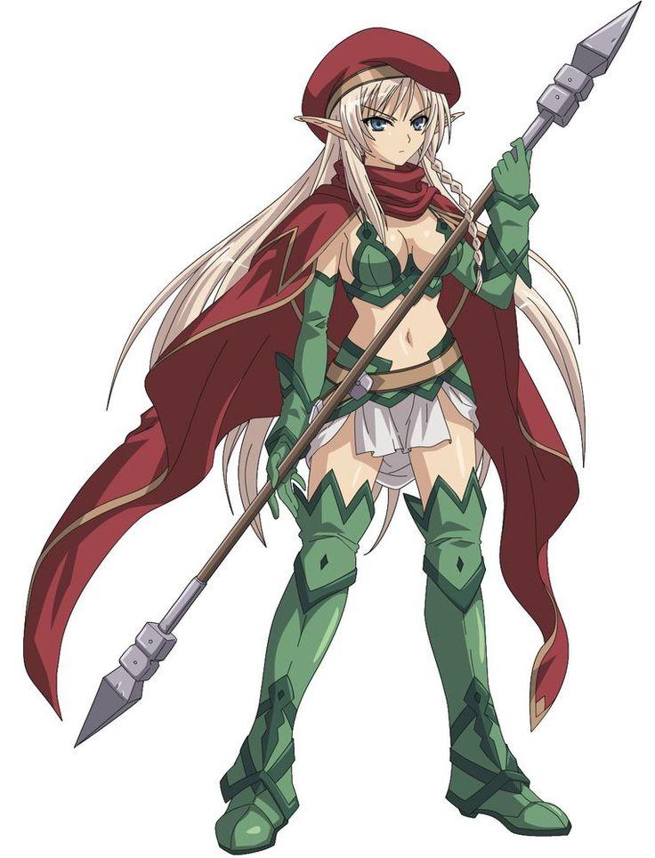 Alleyne from queens blade queens blade fairy artwork
