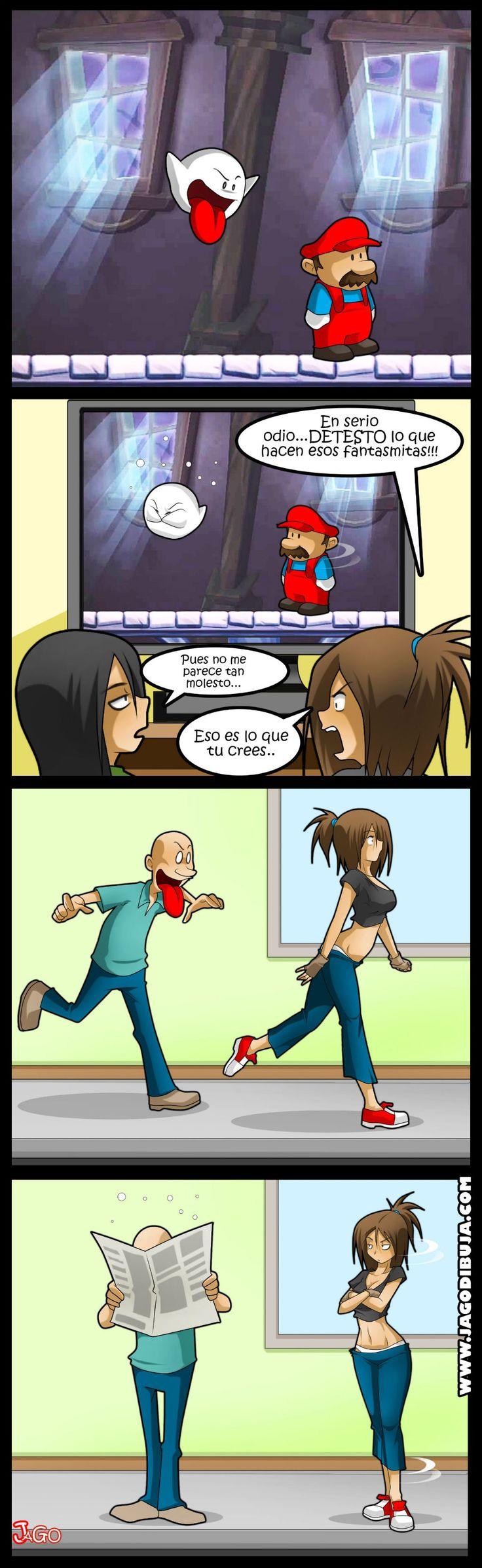 Algunos villanos de los videojuegos son expertos en el arte del troleo. Más webcomics en www.jagodibuja.com.