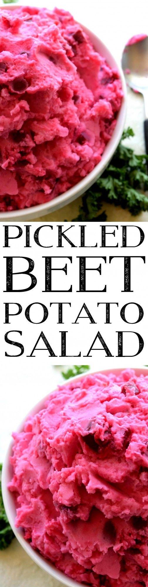 Pickled Beet Potato Salad - Lord Byron's Kitchen