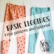 Basic Leggings for Girls