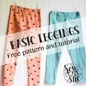 Basic Leggings for Girls