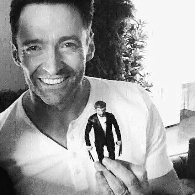 A miniature Logan Please follow @wolverine_and_the_mutants_xmen #thehughjackman #hughjackman #actor #hollywood #australian #sexiestmanalive #man #musical #dancer #singer #talent #famous #unbeatable #beautiful #goodlooking #handsome #cool #warmhearted #friendly #attractive #fit #wolverine #logan #figure #smile #inagoodmood