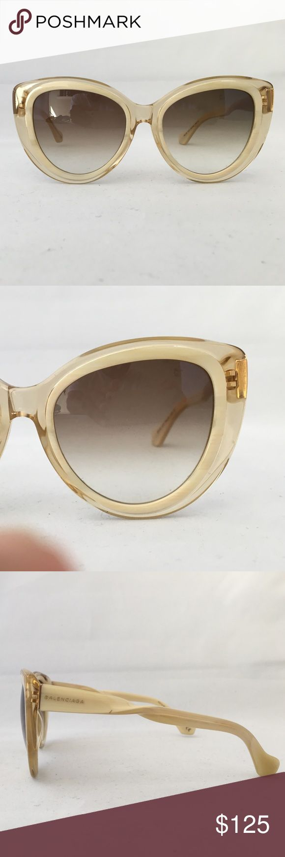 Balenciaga sunglasses Balenciaga Sunglasses new but will not ship with original case very fashionable Balenciaga Accessories Sunglasses