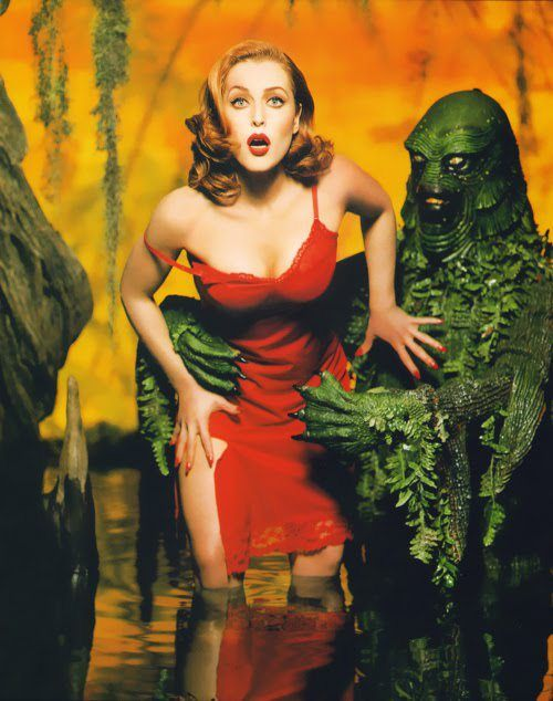 Gillian Anderson photographed by Mark Seliger for Rolling Stone, February 1997