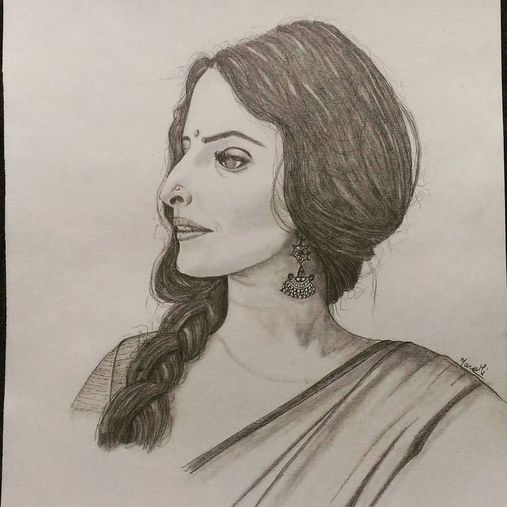 """38 Likes, 1 Comments - Dedicated to Art 🇮🇳 (@creativitytrance) on Instagram: """"Today's inspiration - Vidya Balan Portrait!! What do you guys think?! ☺ Day 189 streak. Happy…"""""""