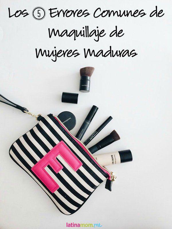 5 Errores Comunes de Maquillaje de Mujeres Maduras: Si evitas estos errores, te verás más rejuvenecida y resplandeciente