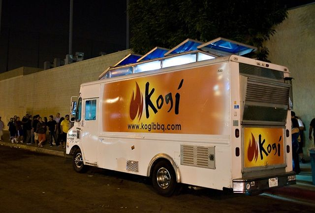 Kogi Truck. I love food trucks, this is one of my favs. Always a long line when kogi's  comes to town lol.