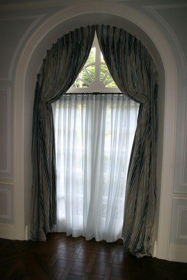 best windows images on pinterest arch window treatments