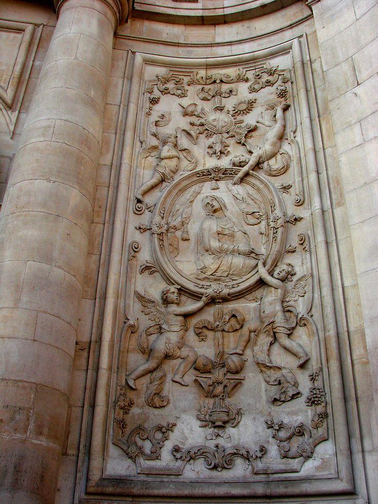 Église Saint-Sébastien de Nancy — La Vierge