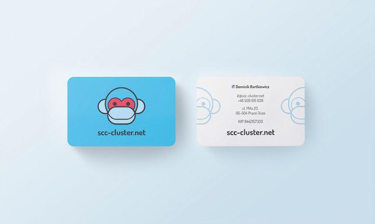 SCC-Cluster - business card - by Lotne Studio