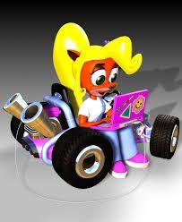 Crash Team Racing crash bandicoot pura coco ripper roo