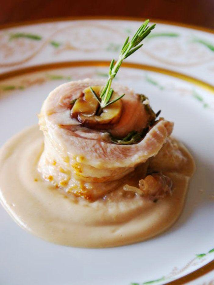 栗の甘みと鶏肉の旨みを含んだソースでいただく一品。ホームパーティにいかが?|『ELLE a table』はおしゃれで簡単なレシピが満載!