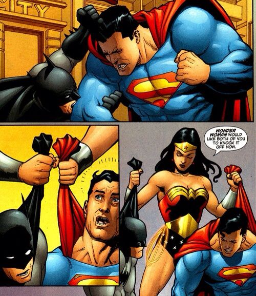 How Batman V Superman should be.