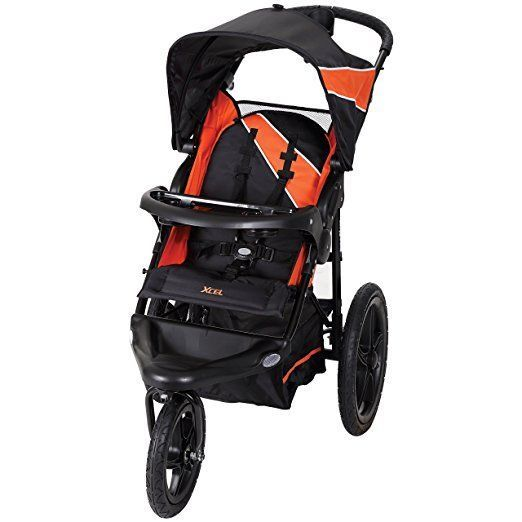 Baby Stroller City Jogger Single Seat Black Jogging All Terrain Travel Compact #BabyTrend