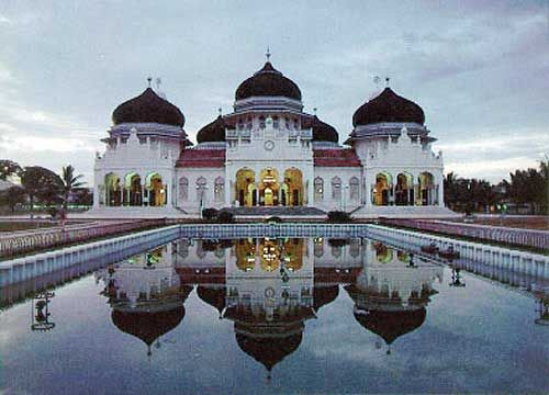 Baiturrahman Grand Mosque, Banda Aceh.
