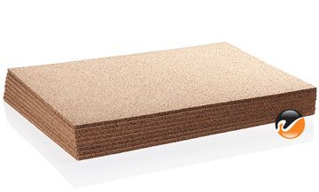 Cork Underlayment Sheets | use as bulletin board on back of teen's bedroom door using contact cement.