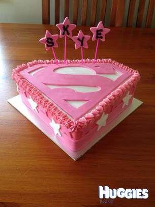 super cake for a super girl