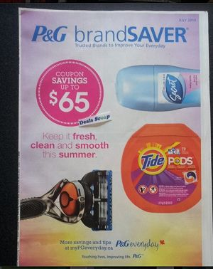 Pg coupons canada